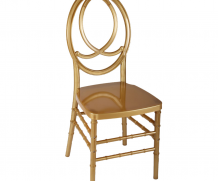 Art Deco Chair – Gold
