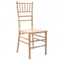 Chiavari Chair – Natural Wood