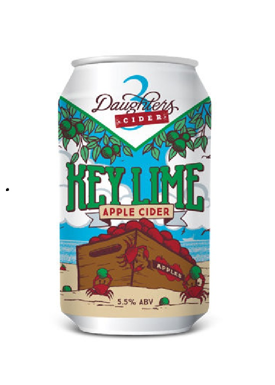 3 Daughters Brewing - Key Lime Apple Cider