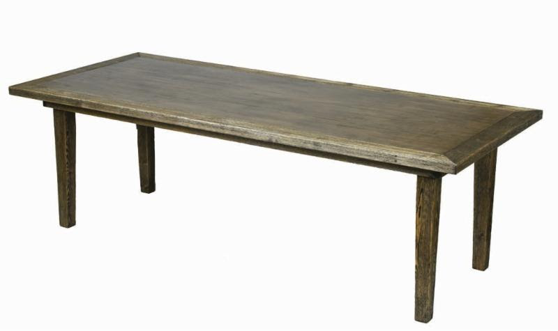 Farm Table - 8 Foot Classic Wood Farm Table
