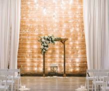 Draped Light Wall – 8 foot section