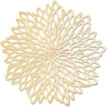 Gold Placemats – Starburst Pattern