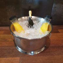 Hammered Steel Bowl – Sparkling Premium Mimosas